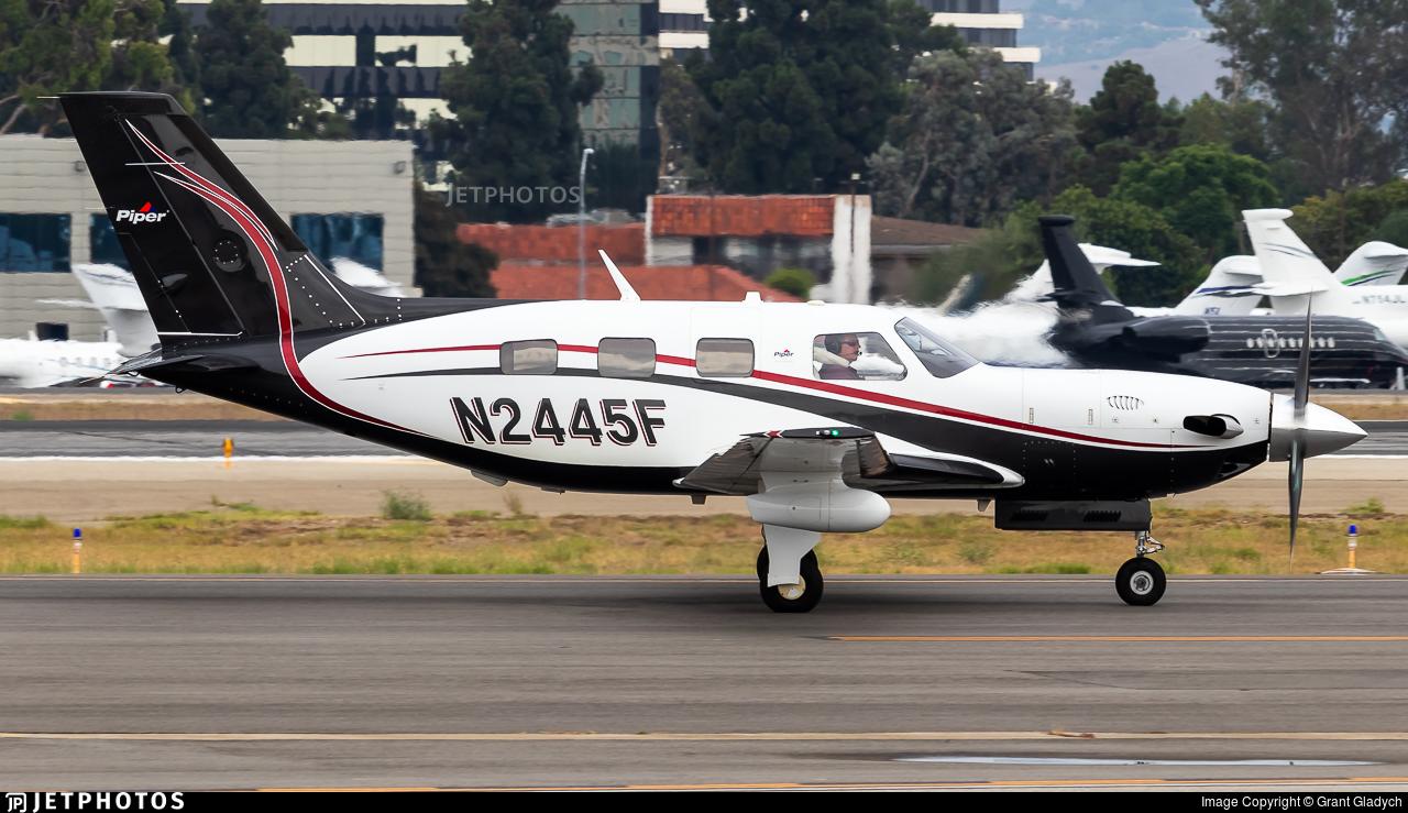 N2445F - Piper PA-46-500TP Malibu Meridian - Private