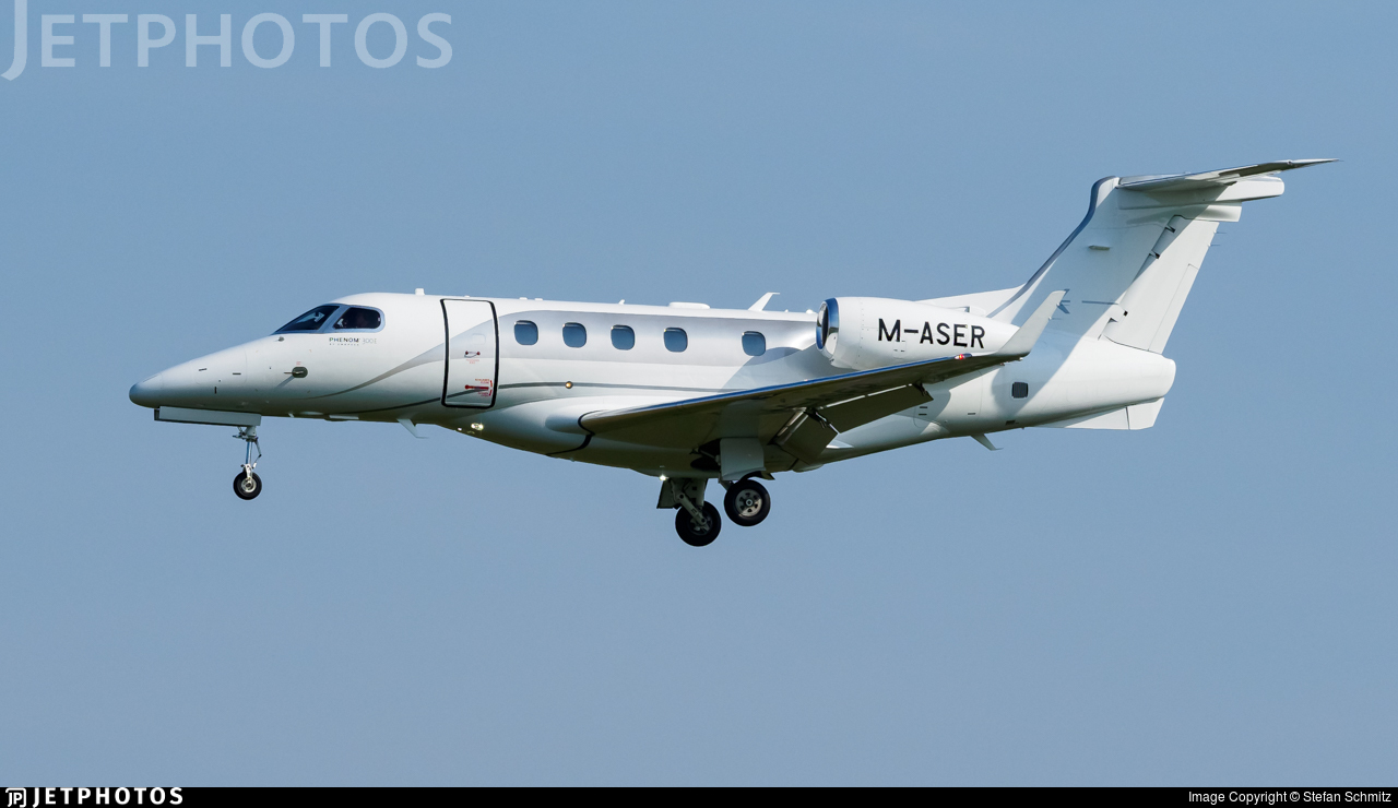M-ASER - Embraer 505 Phenom 300 - Acass Ireland