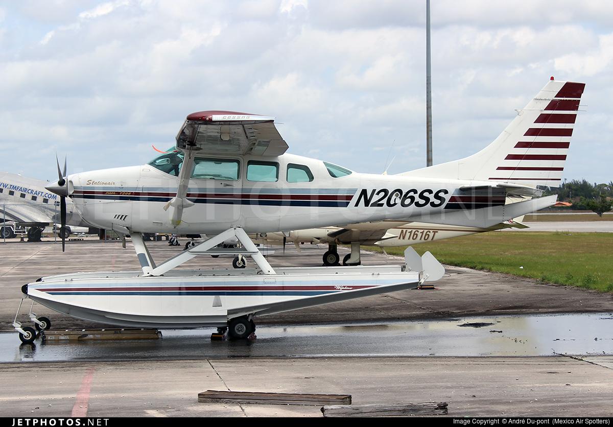 N206SS - Cessna TU206G Turbo Stationair - Private
