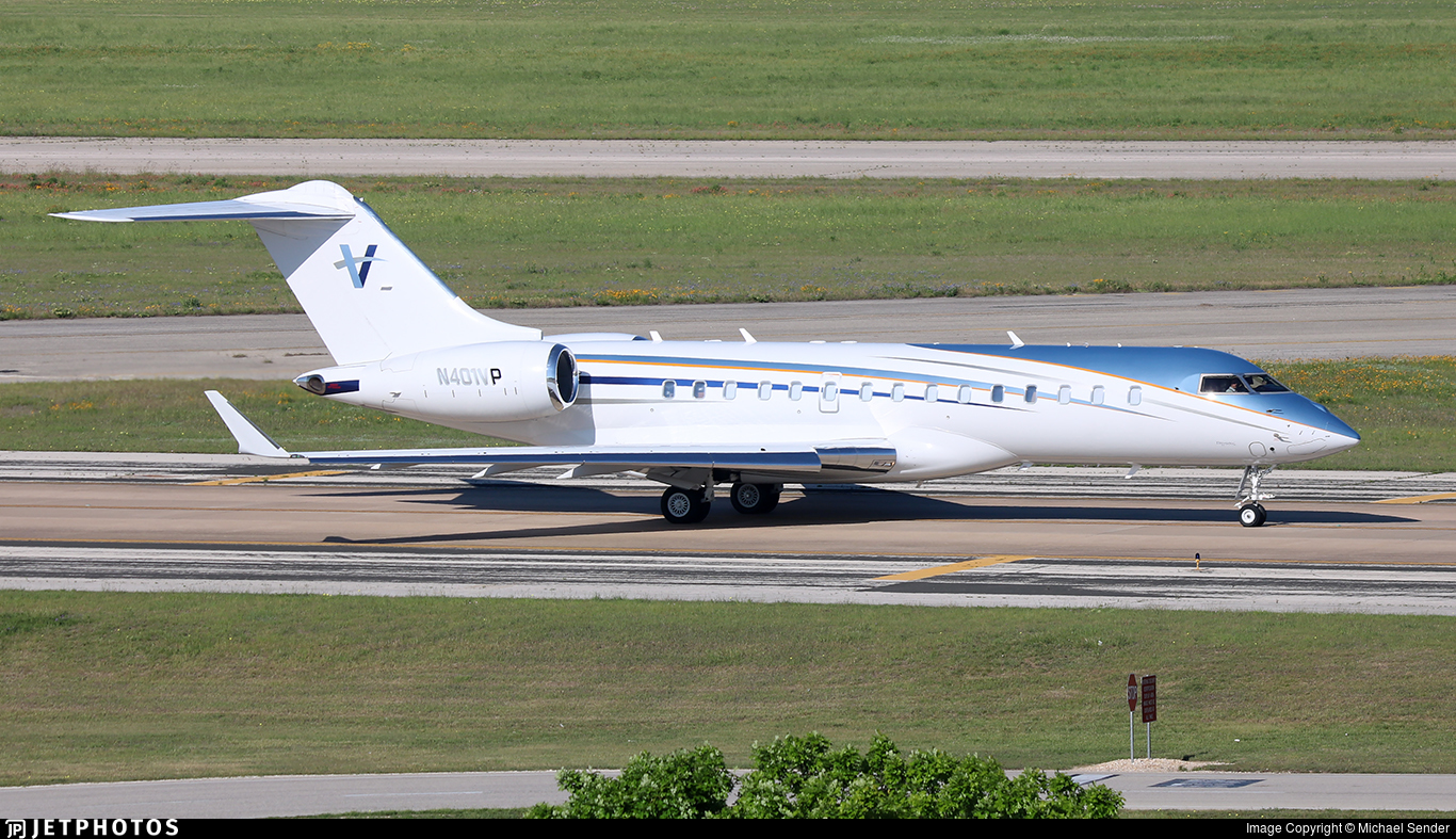 N401VP - Bombardier BD-700-1A10 Global Express XRS - Private