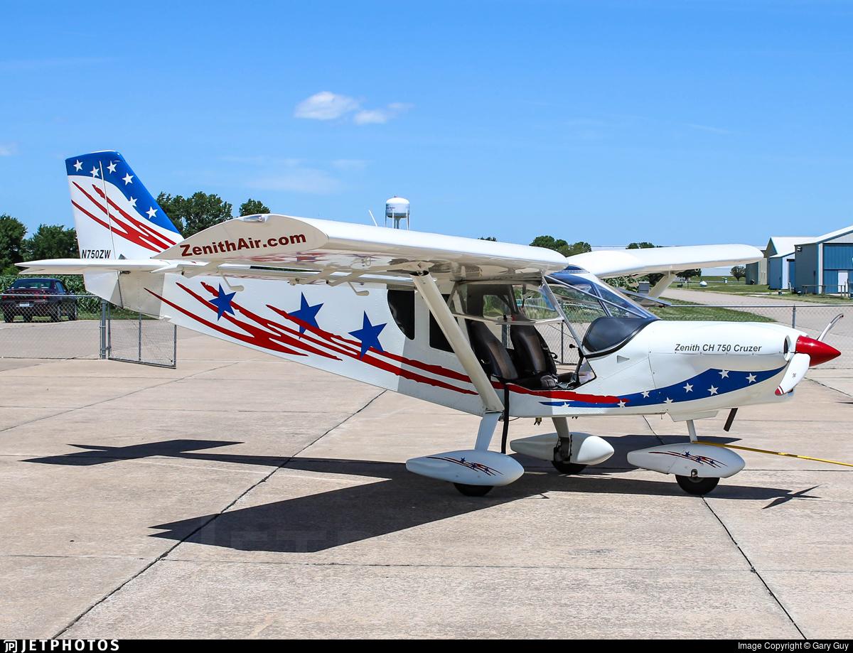 N750ZW | Zenair STOL CH 750 | Zenith Aircraft Company | Gary