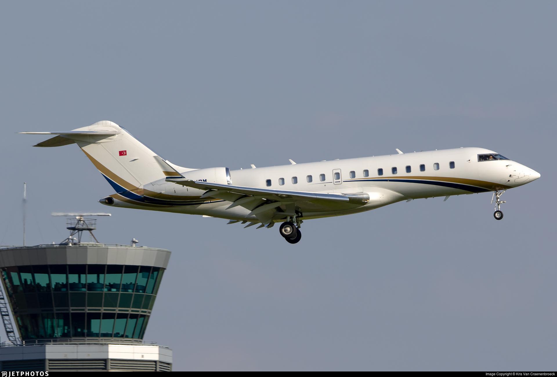 TC-KRM - Bombardier BD-700-1A11 Global 5000 - Fiba Air