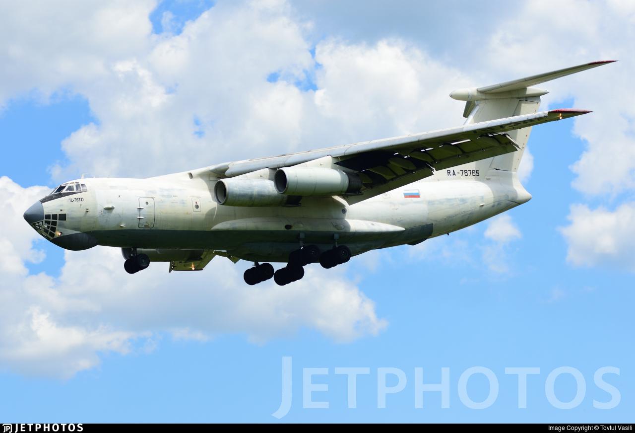 RA-78765 - Ilyushin IL-76TD - Aviacon Zitotrans