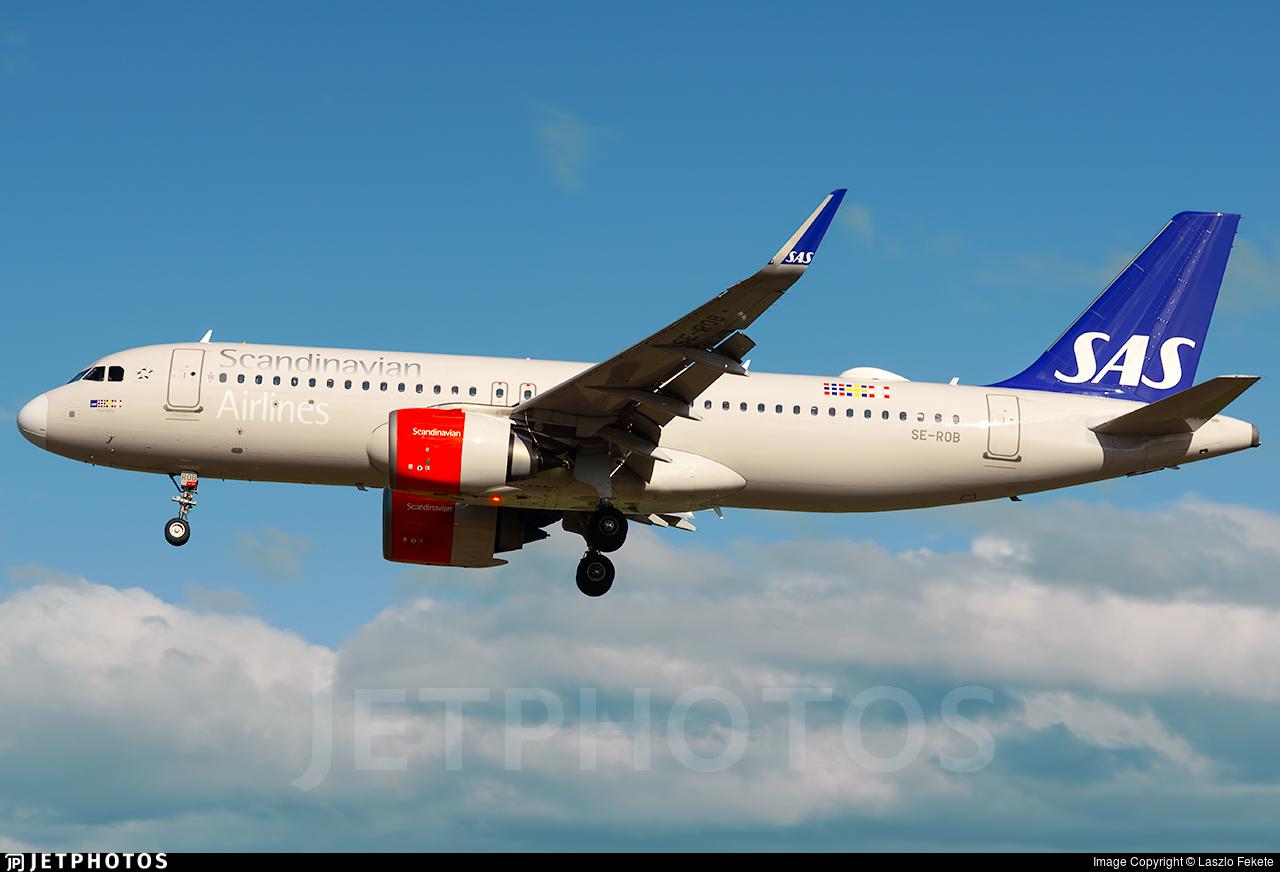 SE-ROB - Airbus A320-251N - Scandinavian Airlines (SAS)