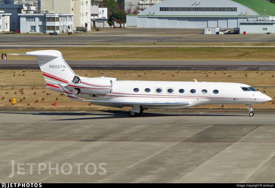 N805TM - Gulfstream G650ER - Private
