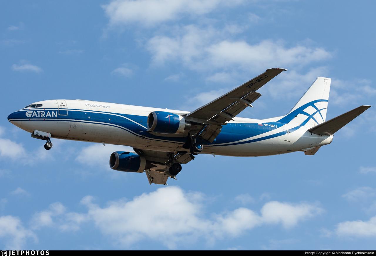 VP-BCJ - Boeing 737-46Q(SF)  - Atran - Aviatrans Cargo Airlines