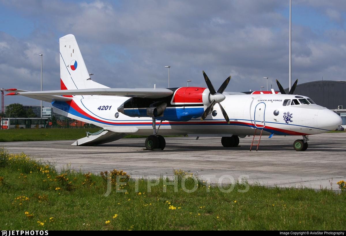 4201 - Antonov An-26B-100 - Czech Republic - Air Force
