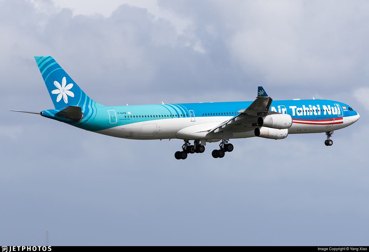 F-OJTN - Airbus A340-313X - Air Tahiti Nui