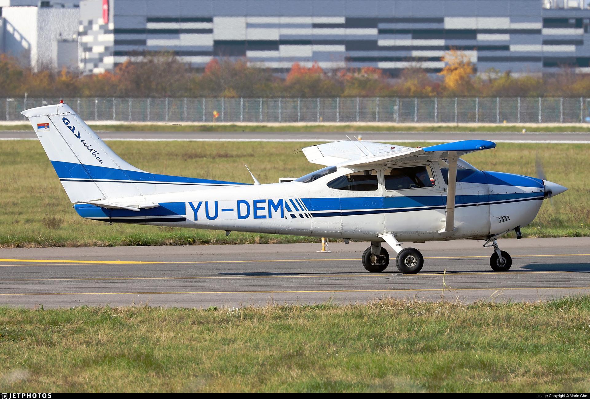 YU-DEM - Reims-Cessna F182Q Skylane II - GAS Aviation