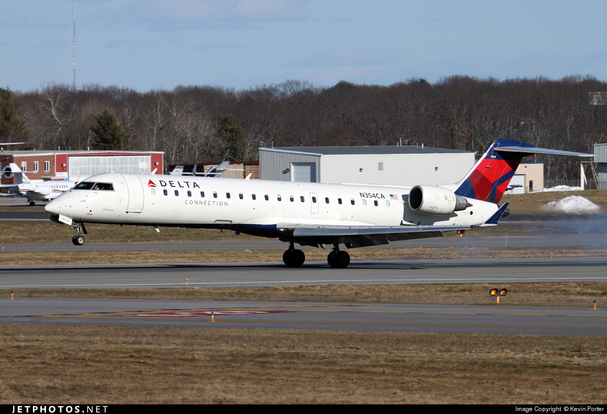 N354CA - Bombardier CRJ-701ER - Delta Connection (GoJet Airlines)