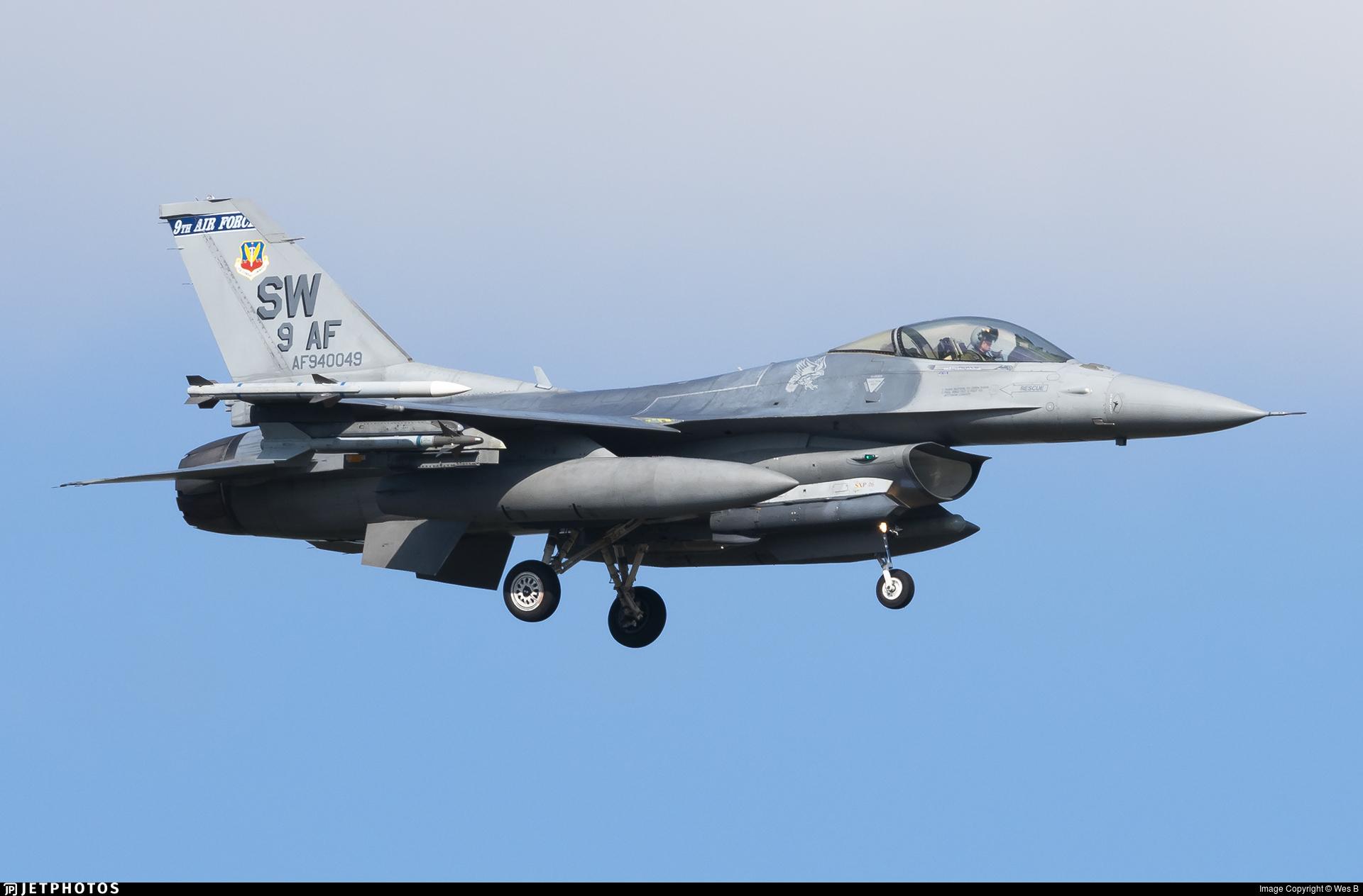 94-0049 - Lockheed Martin F-16C Fighting Falcon - United States - US Air Force (USAF)