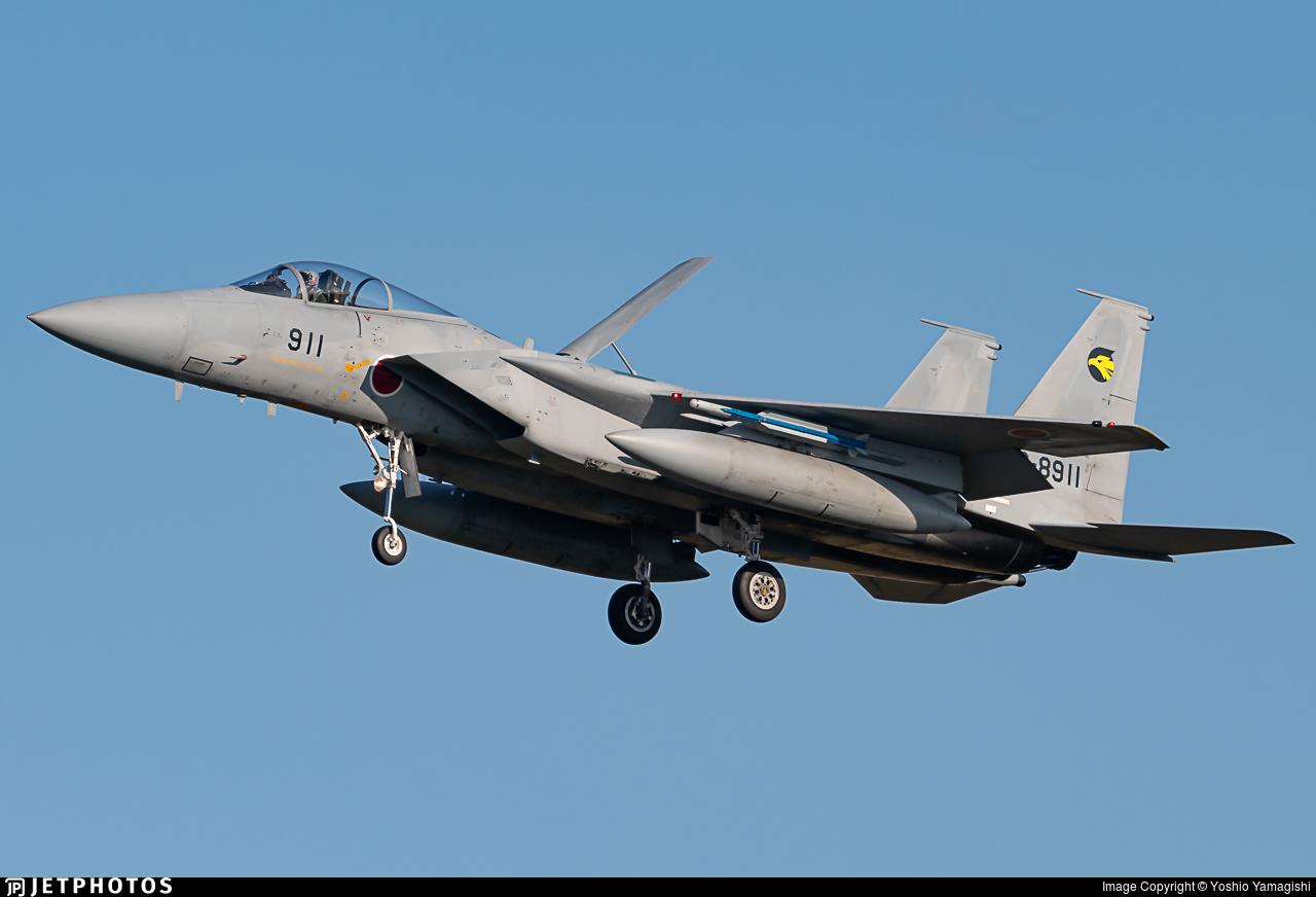 92-8911 - McDonnell Douglas F-15J Eagle - Japan - Air Self Defence Force (JASDF)