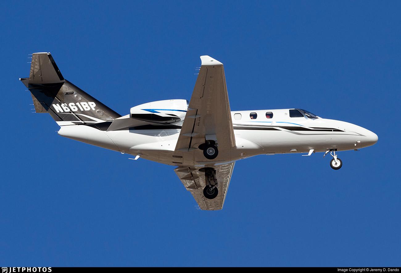 N661BP - Cessna 525 Citationjet CJ1 - Private