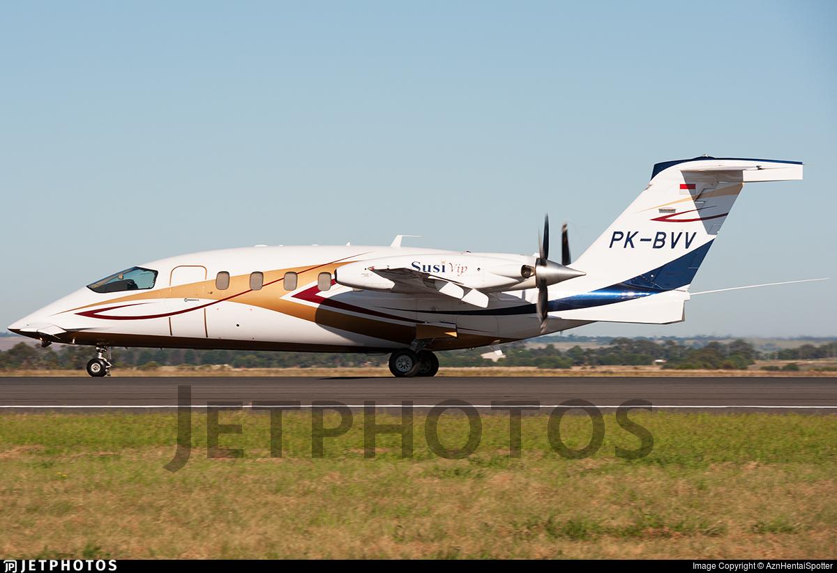 PK-BVV - Piaggio P-180 Avanti II - Susi Air
