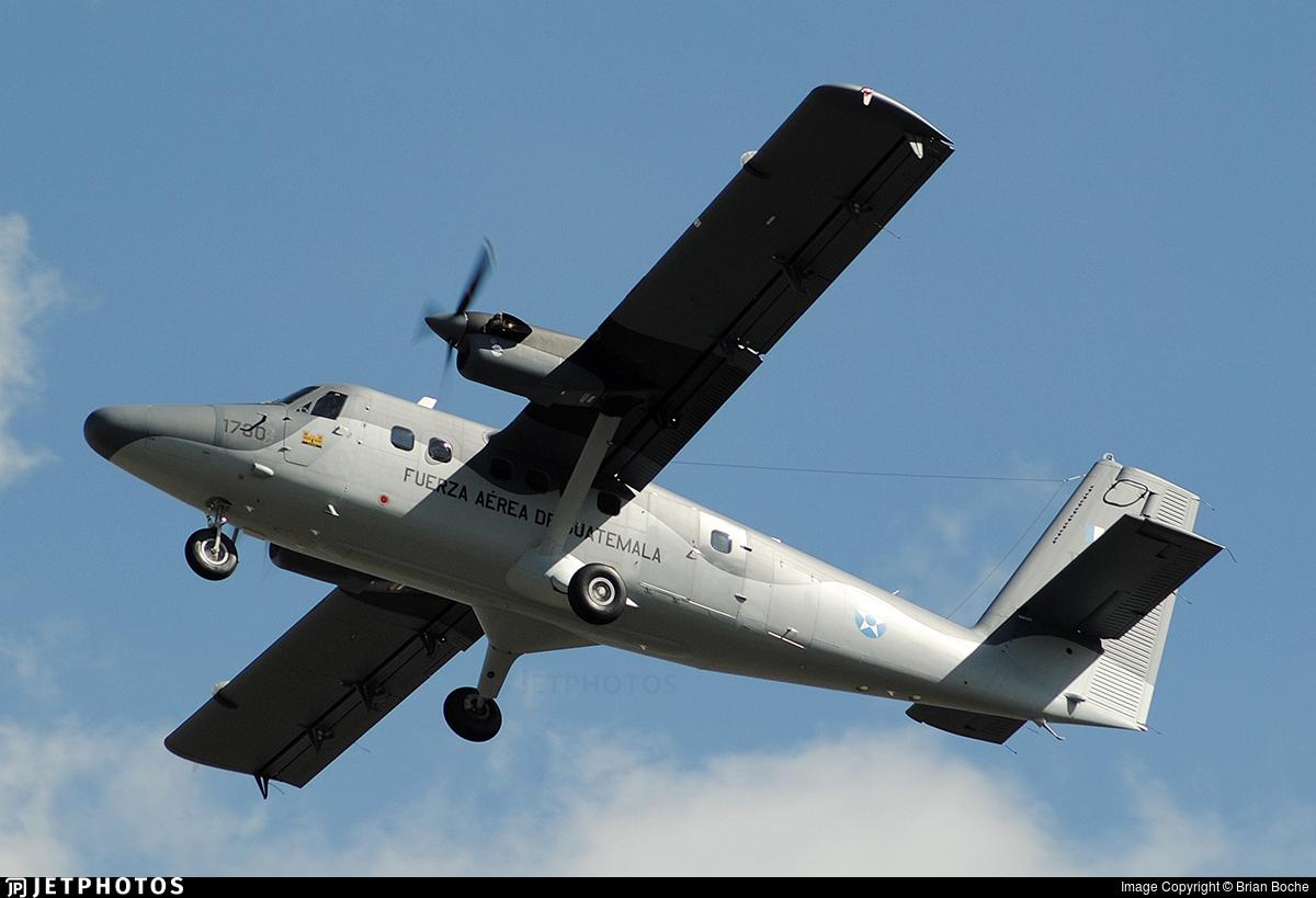 1730 - Viking DHC-6-400 Twin Otter - Guatemala - Air Force