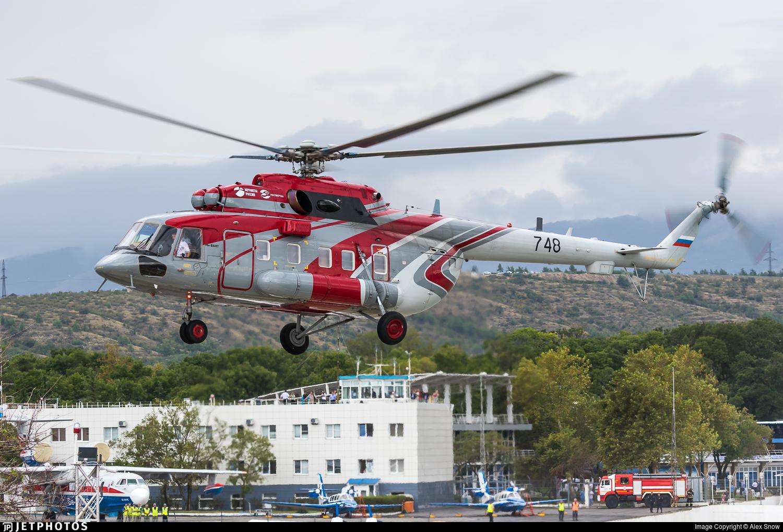 748 - Mil Mi-8AMT Hip - Rosvertol-Avia