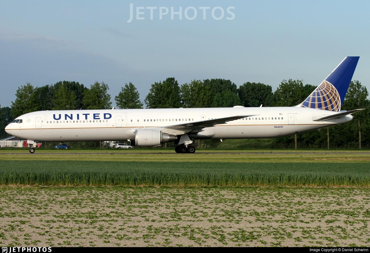 N66051 - Boeing 767-424(ER) - United Airlines