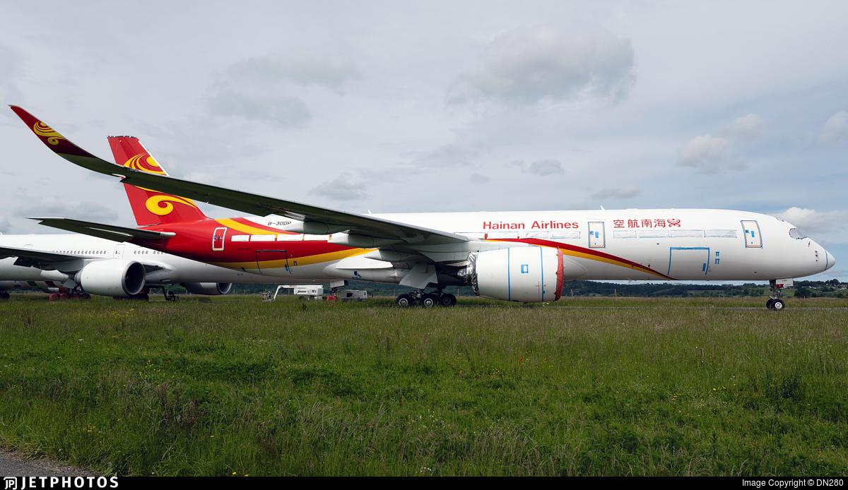 B-30DP - Airbus A350-941 - Hainan Airlines
