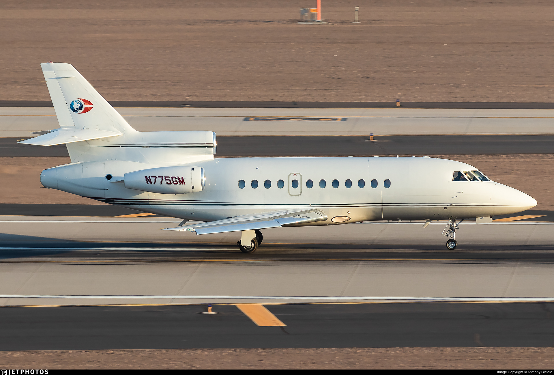 N775GM - Dassault Falcon 900 - Private