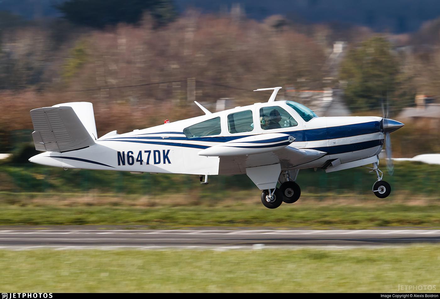 N647DK - Beechcraft V35 Bonanza - Private