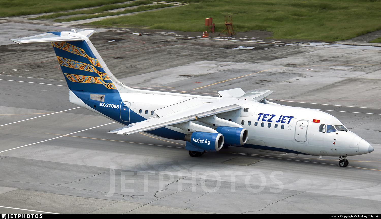 EX-27005 - British Aerospace Avro RJ85 - TezJet Air Company