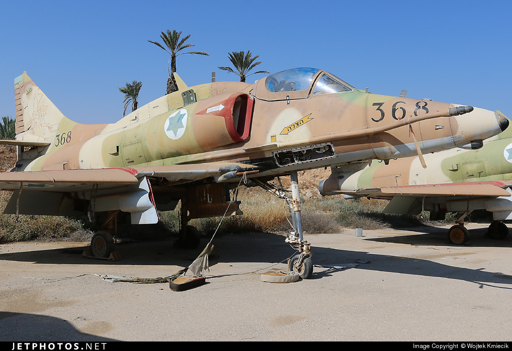 368 - McDonnell Douglas A-4N Improved Ayit - Israel - Air Force