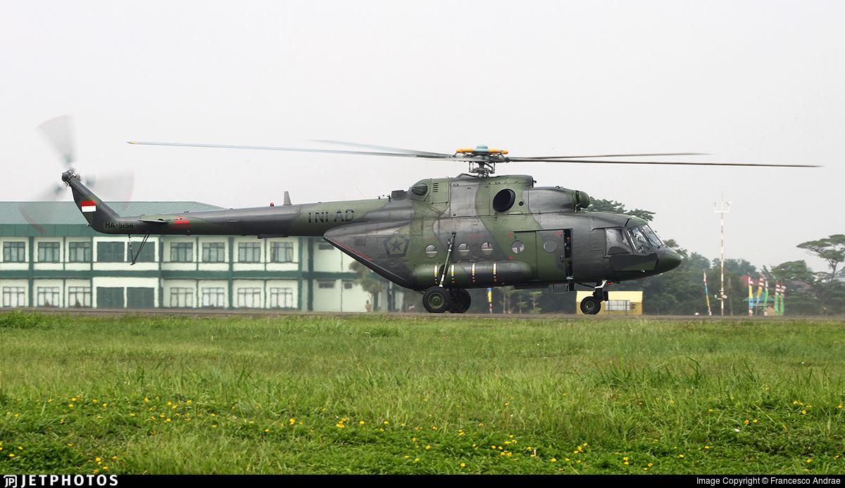 HA-5156 - Mil Mi-17V5 Hip H - Indonesia - Army