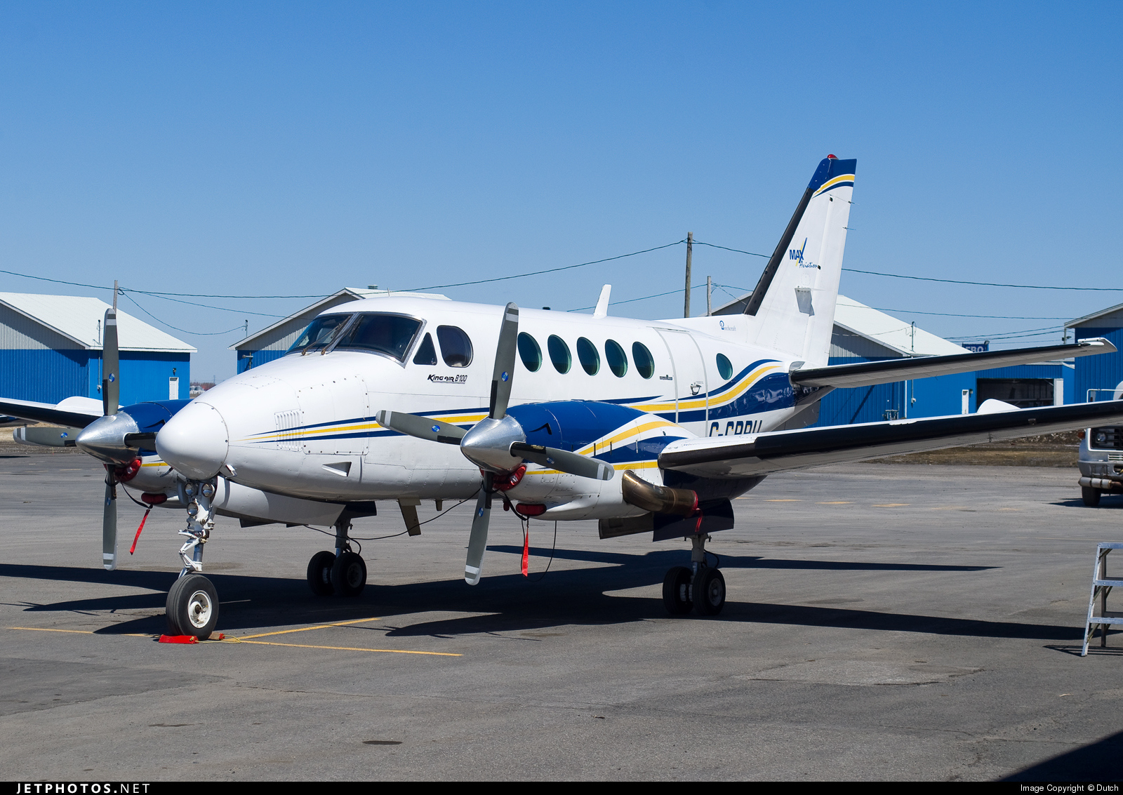 C-GPRU - Beechcraft B100 King Air - Max Aviation