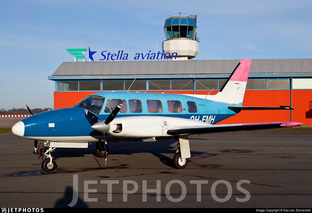 9H-FMH - Piper PA-31-350 Navajo Chieftain - Private