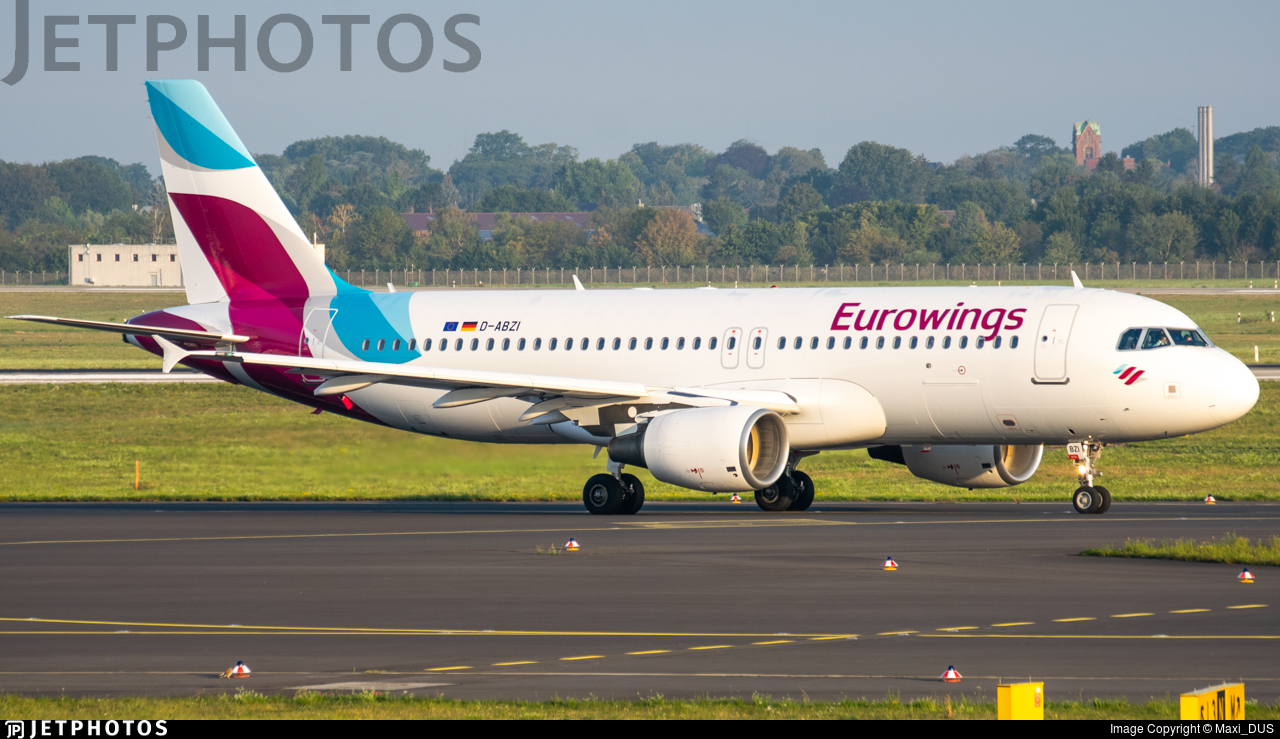 D-ABZI - Airbus A320-216 - Eurowings