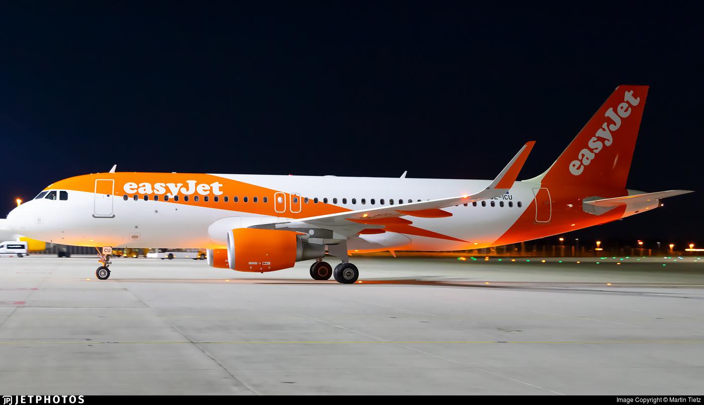 OE-ICU - Airbus A320-214 - easyJet Europe