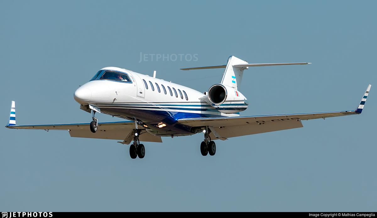 LQ-CPS - Bombardier Learjet 45 - Argentina - Government of the Province of Santiago del Estero