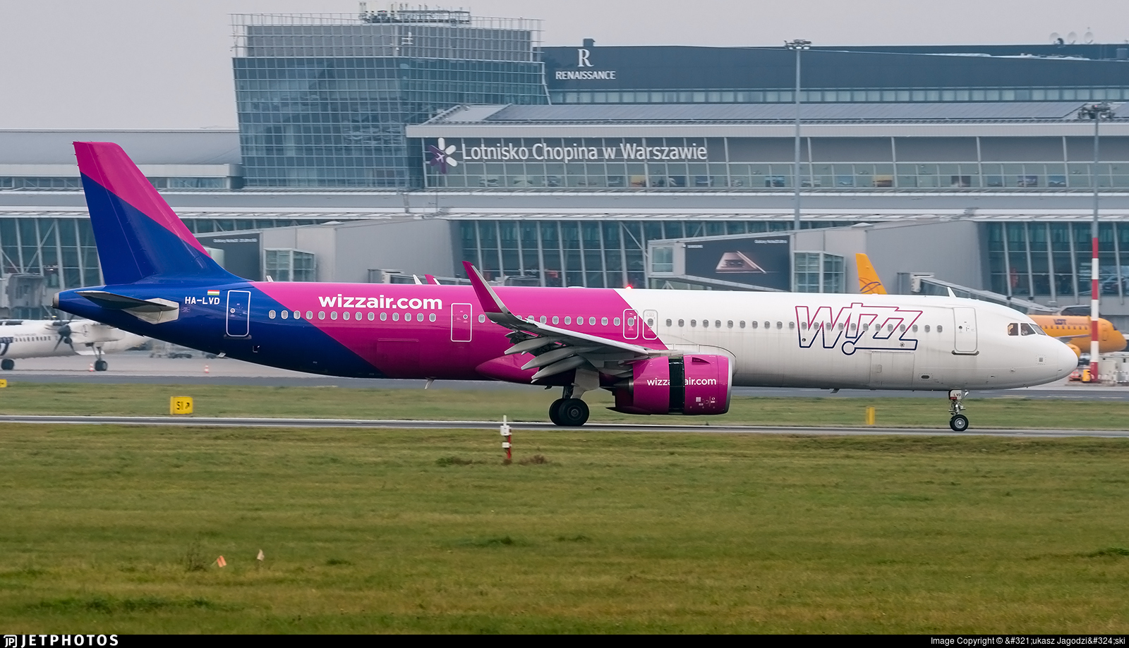 HA-LVD - Airbus A321-271NX - Wizz Air