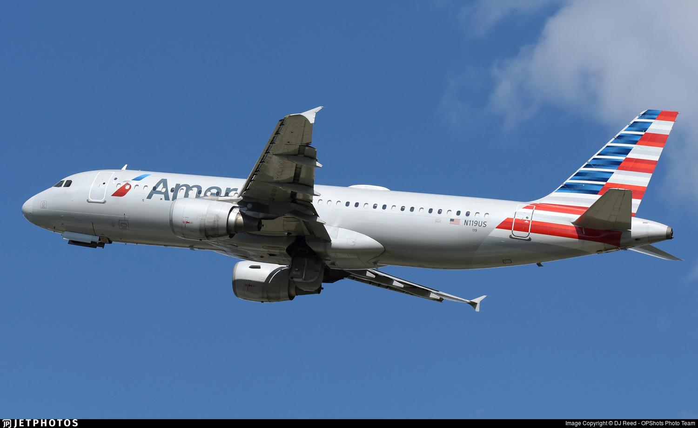 N119US - Airbus A320-214 - American Airlines