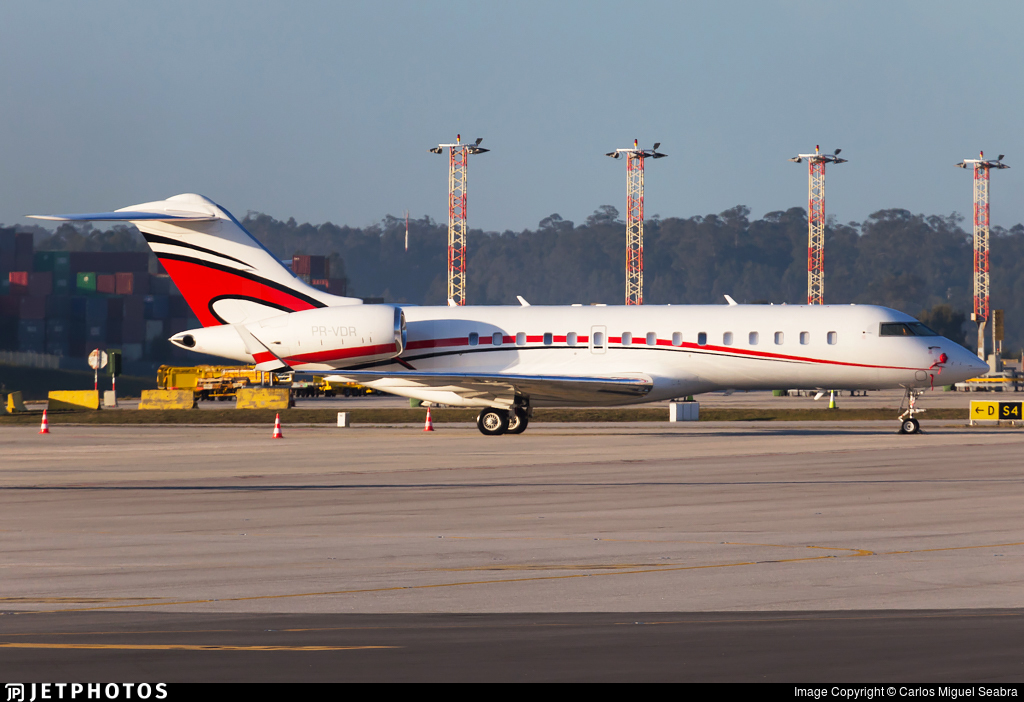PR-VDR - Bombardier BD-700-1A10 Global Express - Private