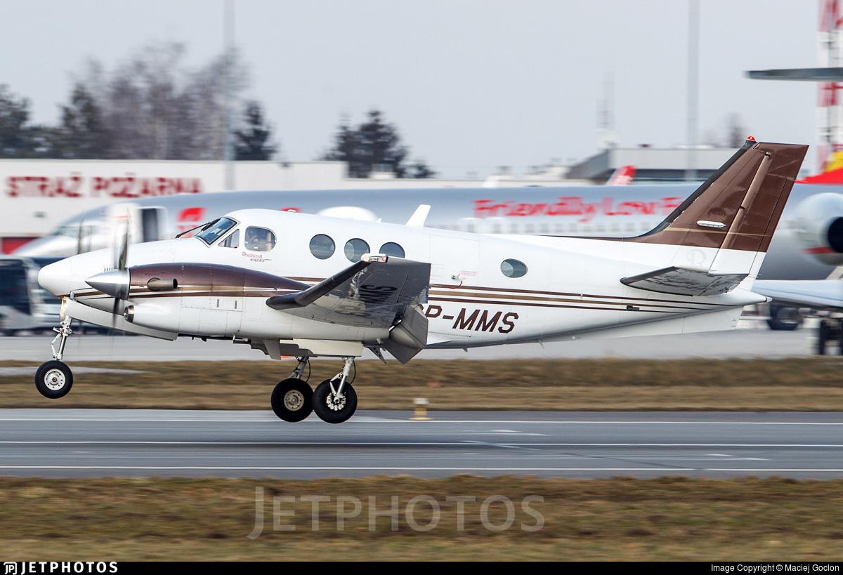 SP-MMS - Beechcraft C90GTi King Air - Private