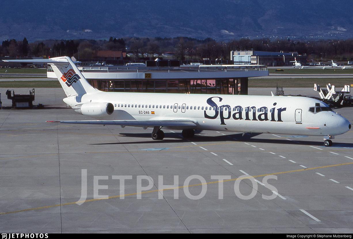 EC-246 - McDonnell Douglas DC-9-51 - Spanair