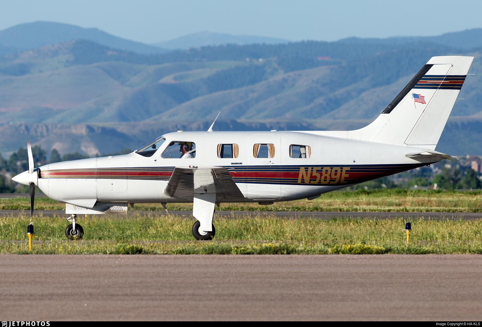 N589E - Piper PA-46-310P Malibu - Private
