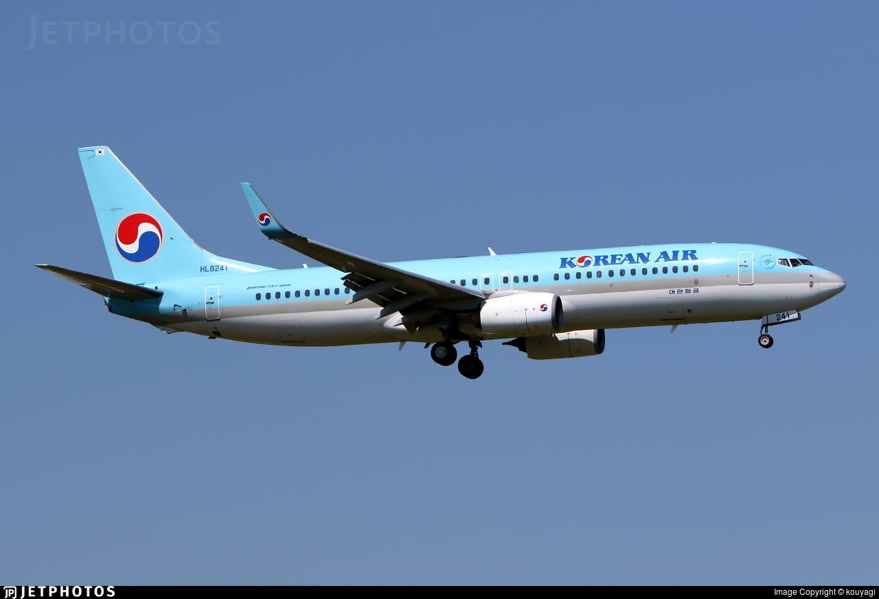 HL8241 - Boeing 737-8BK - Korean Air