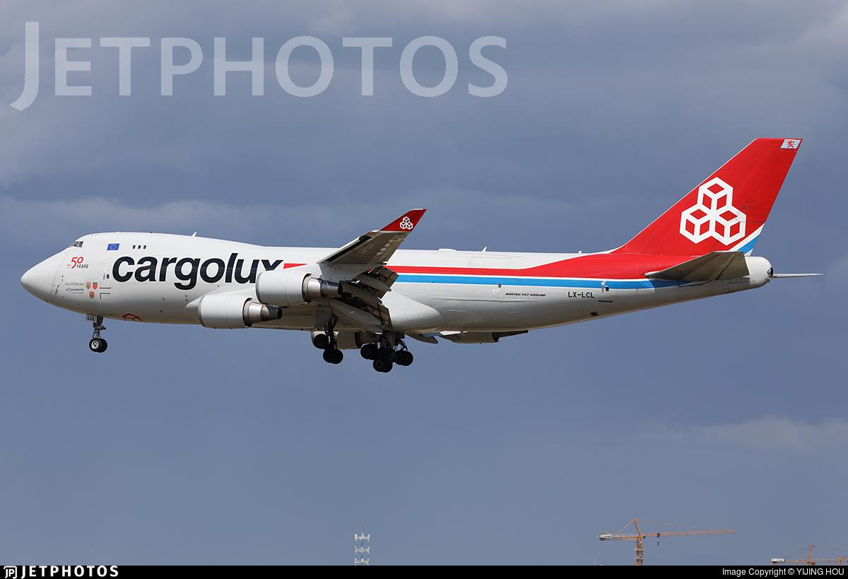 LX-LCL - Boeing 747-4HAERF - Cargolux Airlines International