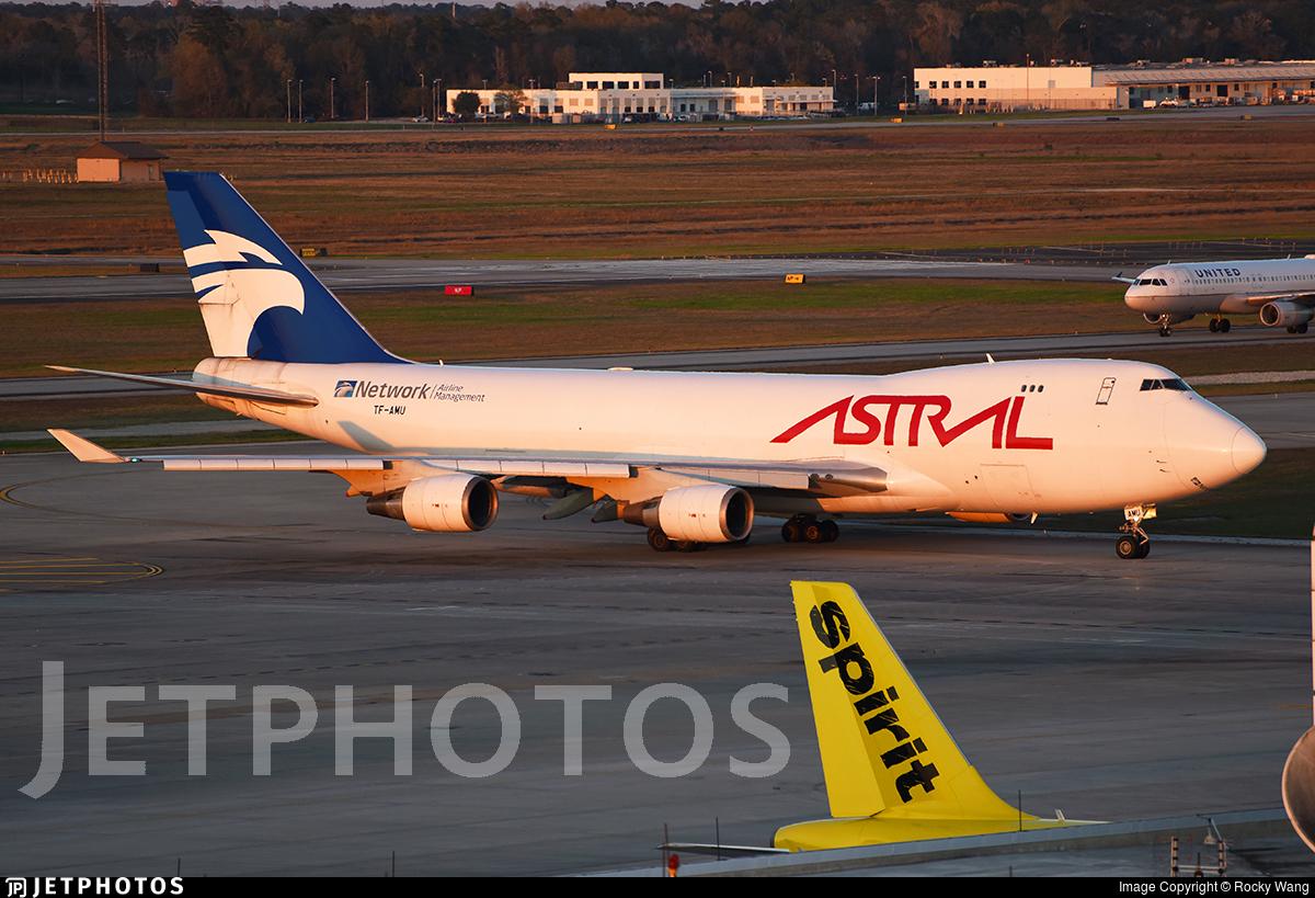 TF-AMU - Boeing 747-48EF(SCD) - Astral Aviation (Air Atlanta Icelandic)