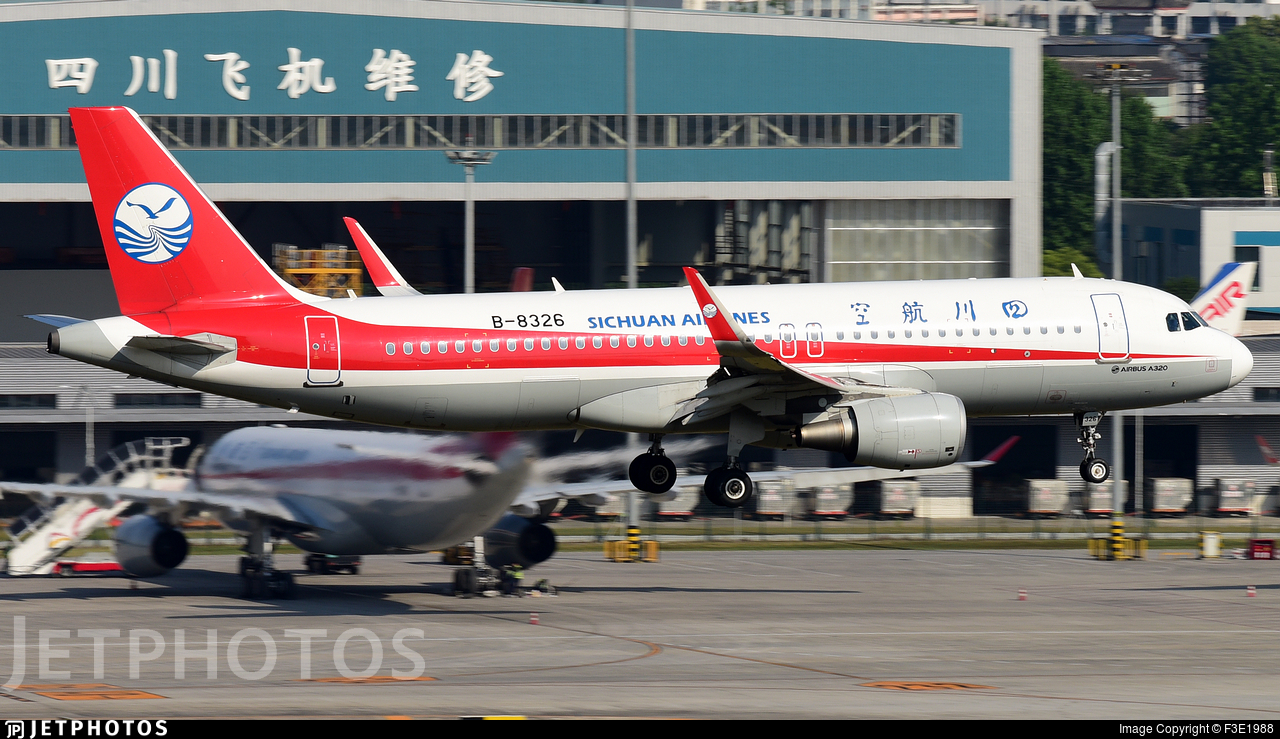 B-8326 - Airbus A320-214 - Sichuan Airlines