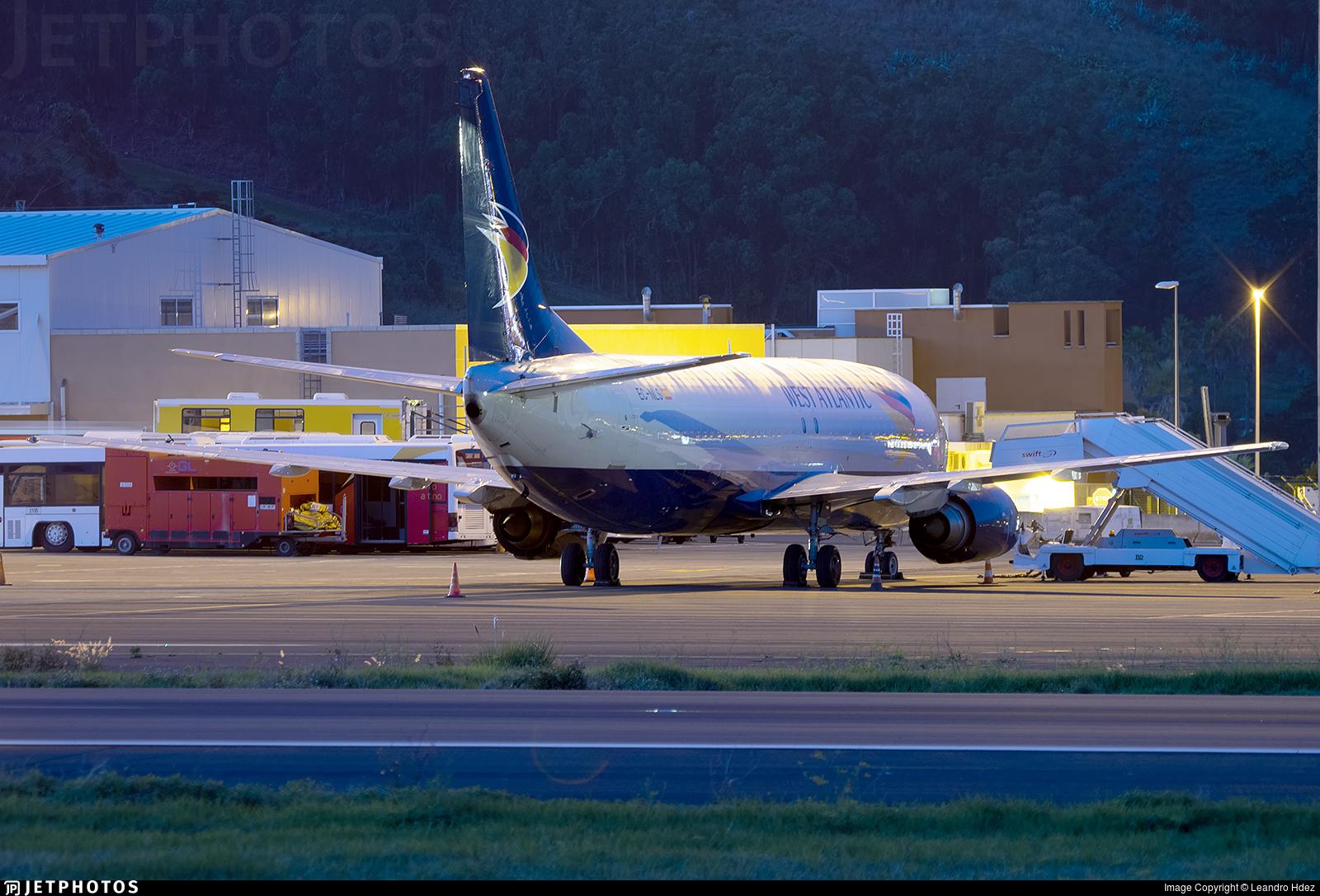 EC-NLS - Boeing 737-436(SF) - Swiftair