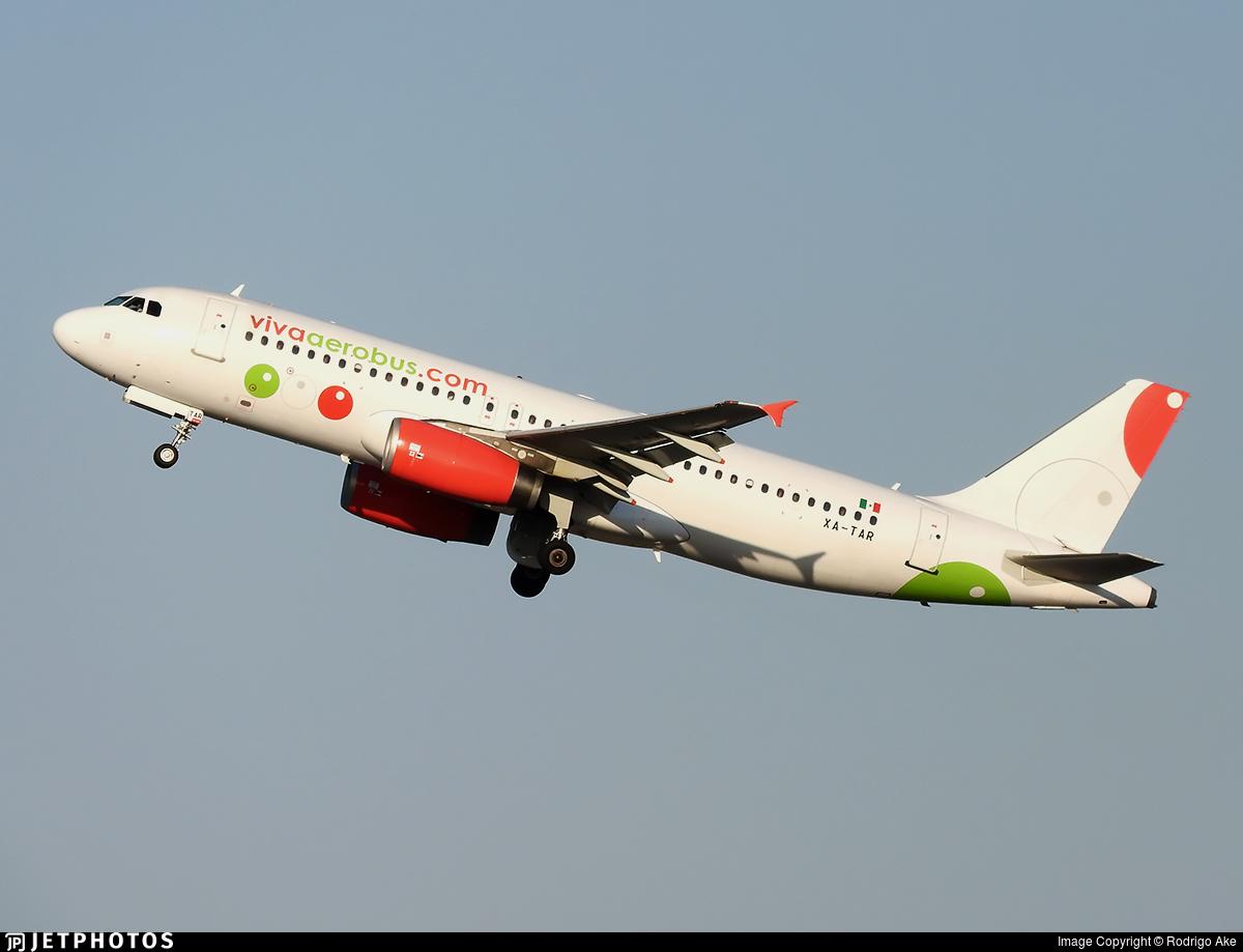 XA-TAR - Airbus A320-232 - VivaAerobus