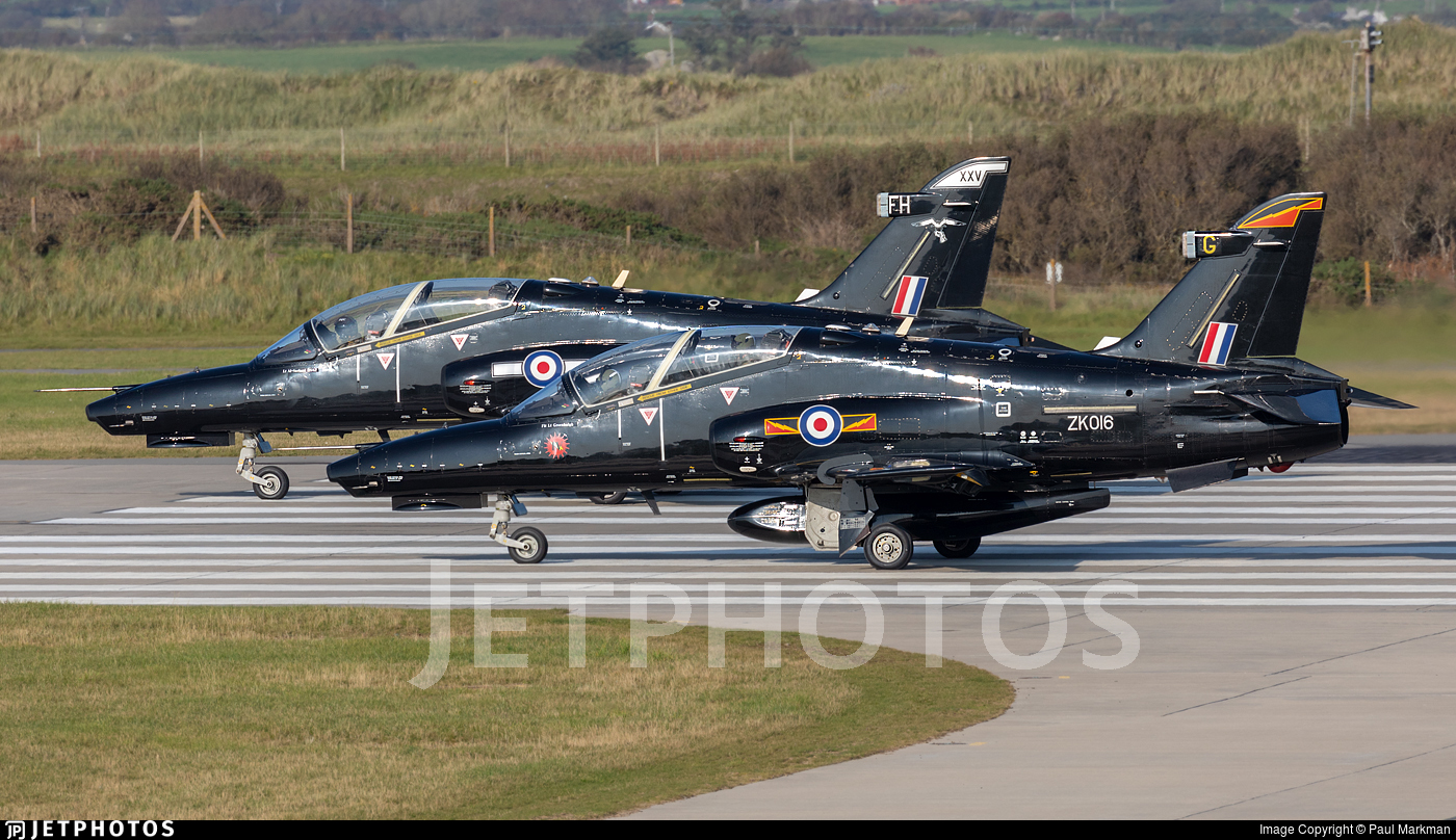 ZK016 - British Aerospace Hawk T.2 - United Kingdom - Royal Air Force (RAF)