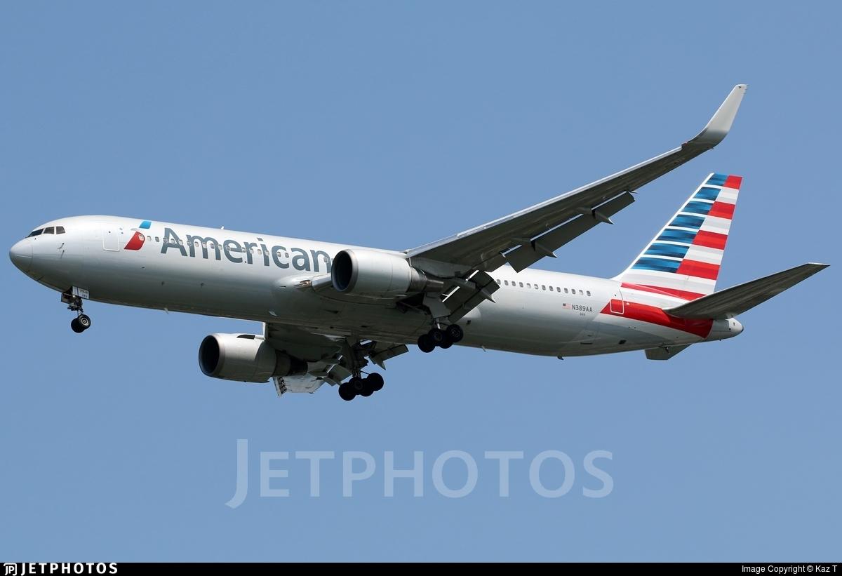 N389AA - Boeing 767-323(ER) - American Airlines