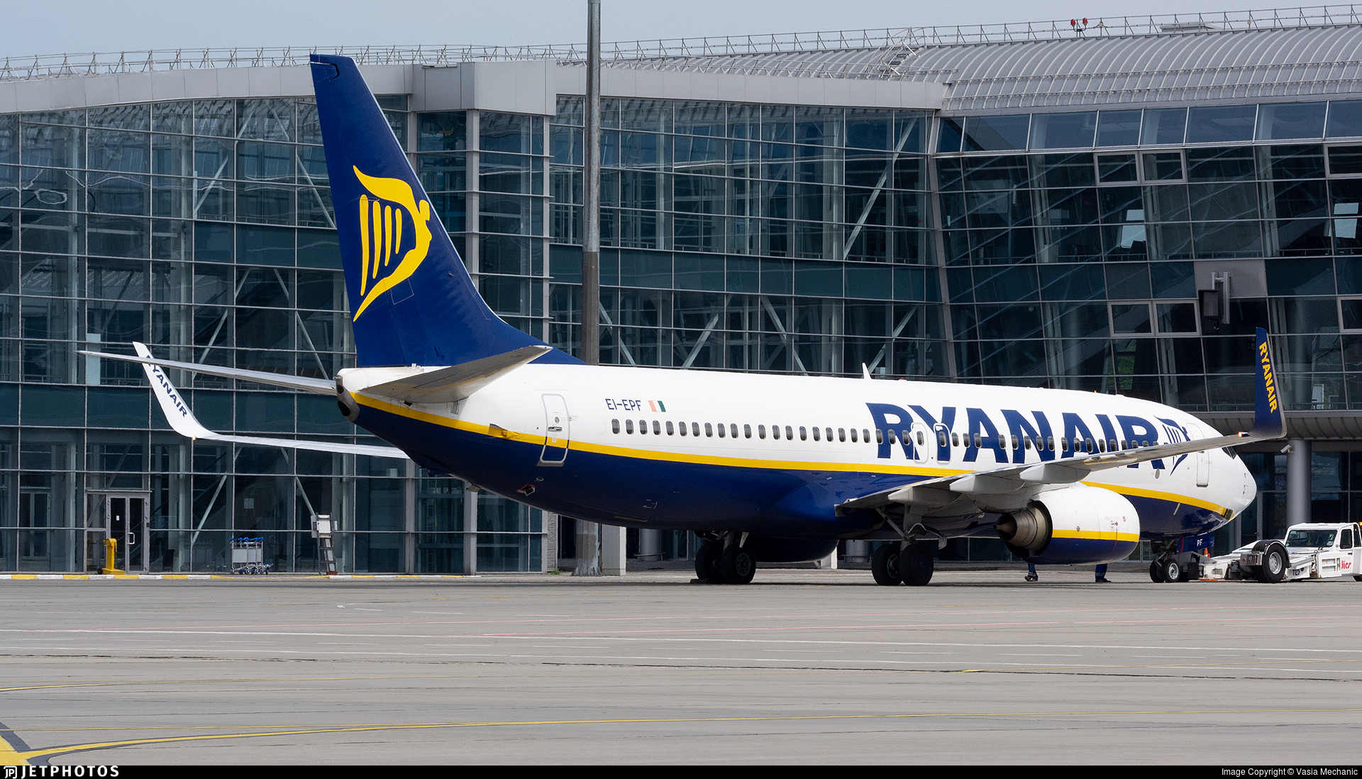 EI-EPF - Boeing 737-8AS - Ryanair