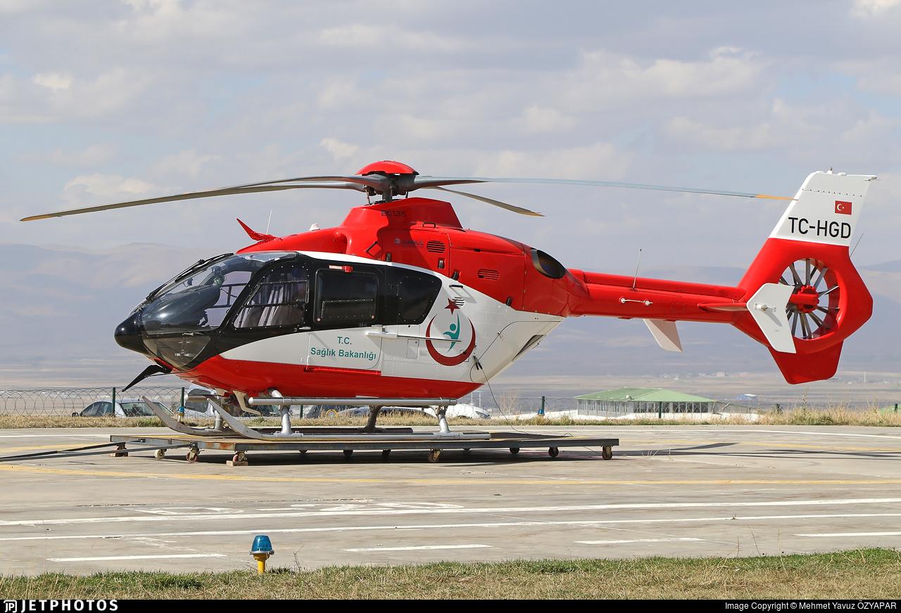 TC-HGD - Eurocopter EC 135P2+ - Turkey - Ministry of Health