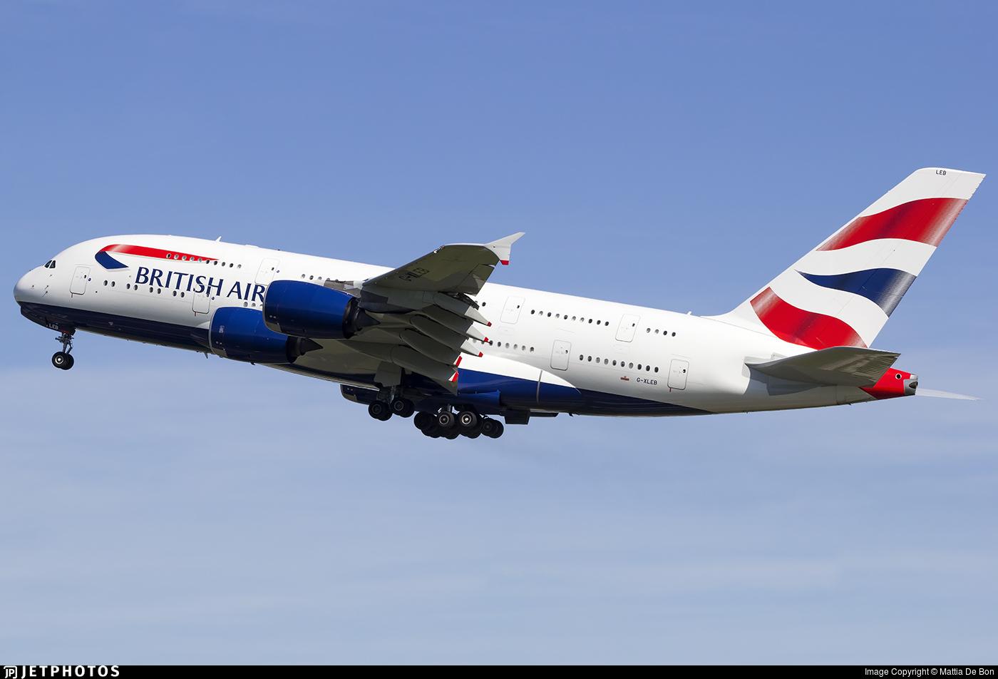G-XLEB - Airbus A380-841 - British Airways