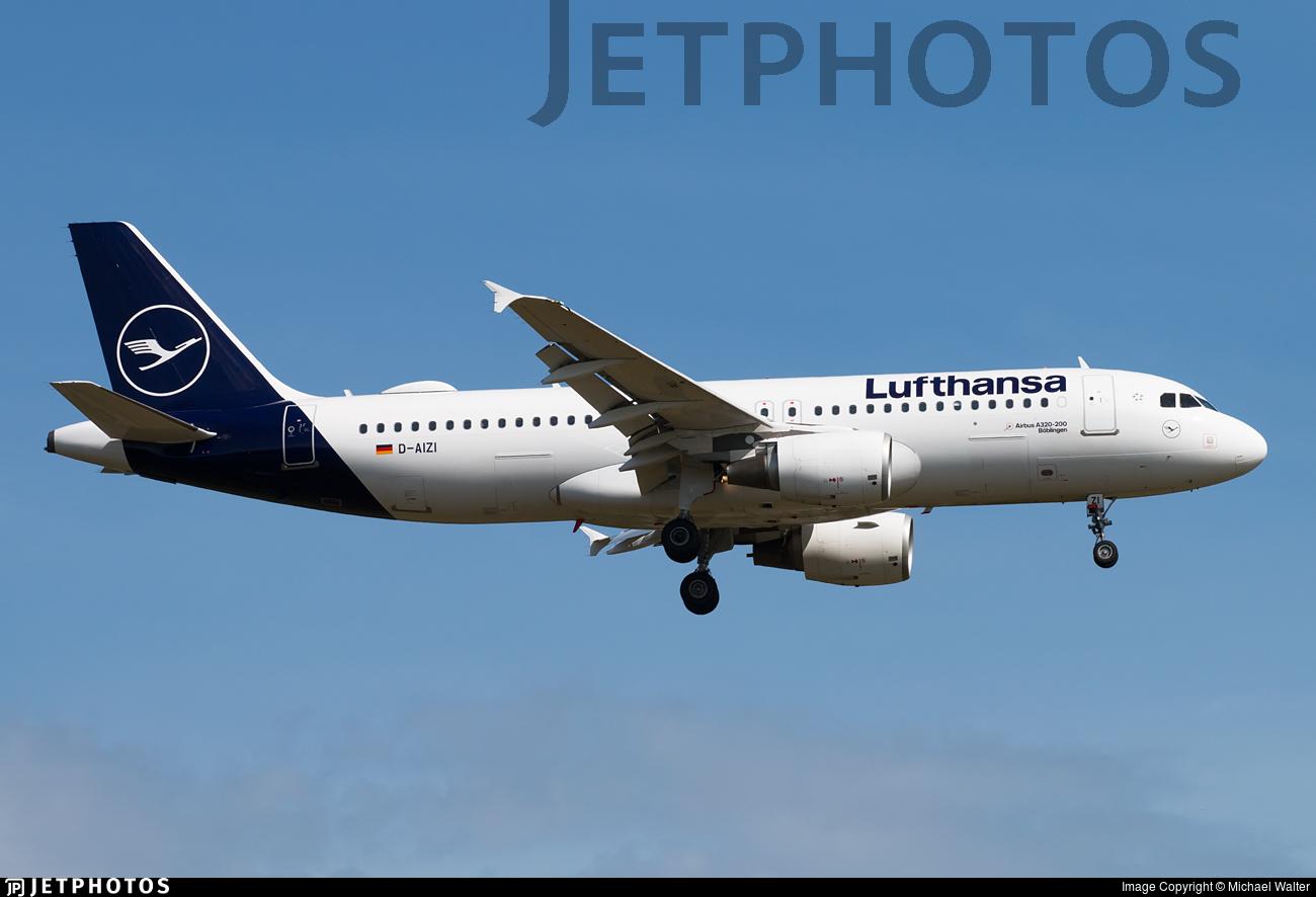 D-AIZI - Airbus A320-214 - Lufthansa